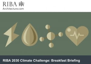 Invitation to a sustainability breakfast meeting in London